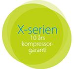 Daikin 10 års kompressor garanti